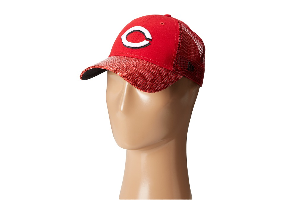 New Era - Sequin Vize Cincinnati Reds Team (Red) Caps