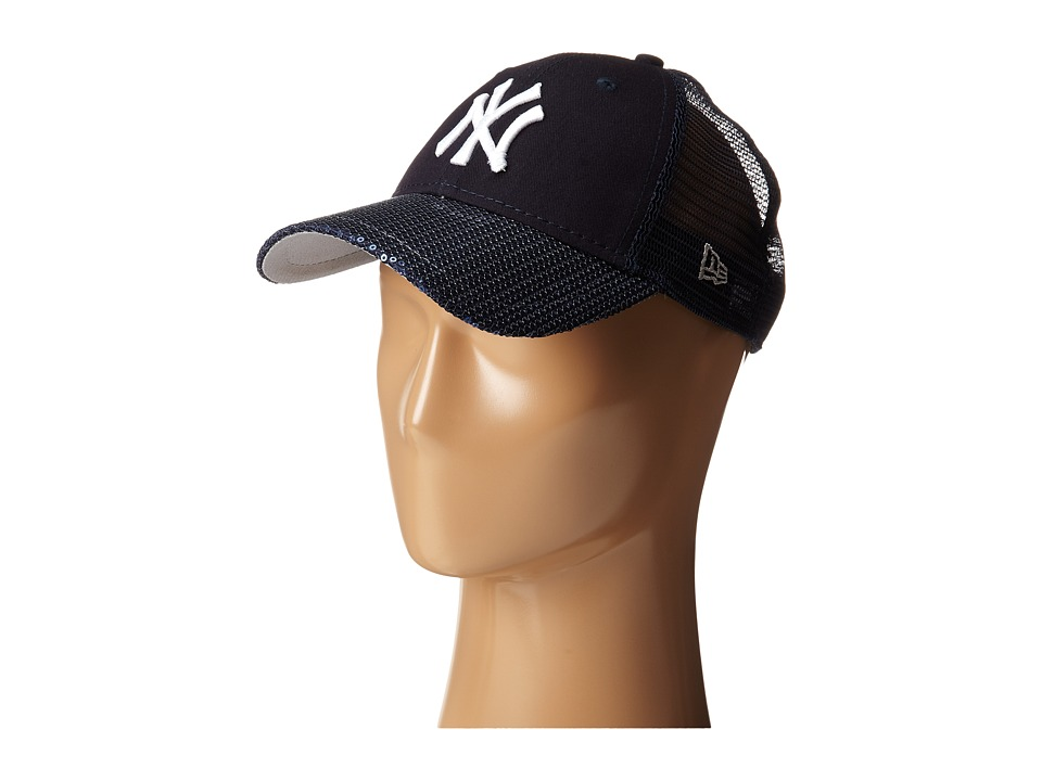 New Era - Sequin Vize New York Yankees Team (Navy) Caps
