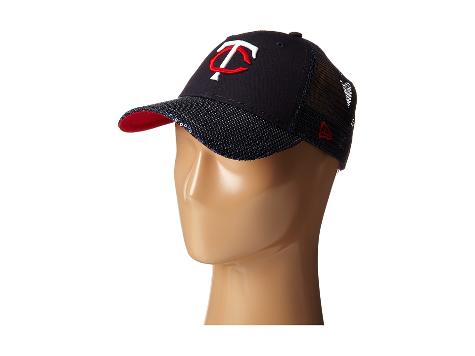 New Era - Sequin Vize Minnesota Twins Team (Dark Blue) Caps