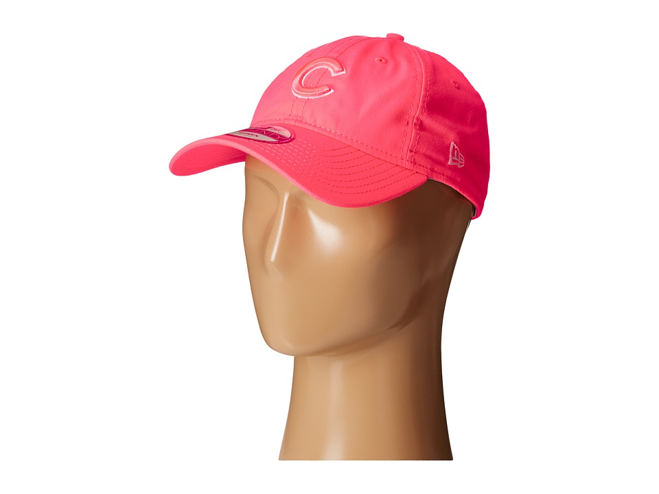 New Era - Fashion Essentials 920 Chicago Cubs (Bright Pink) Caps