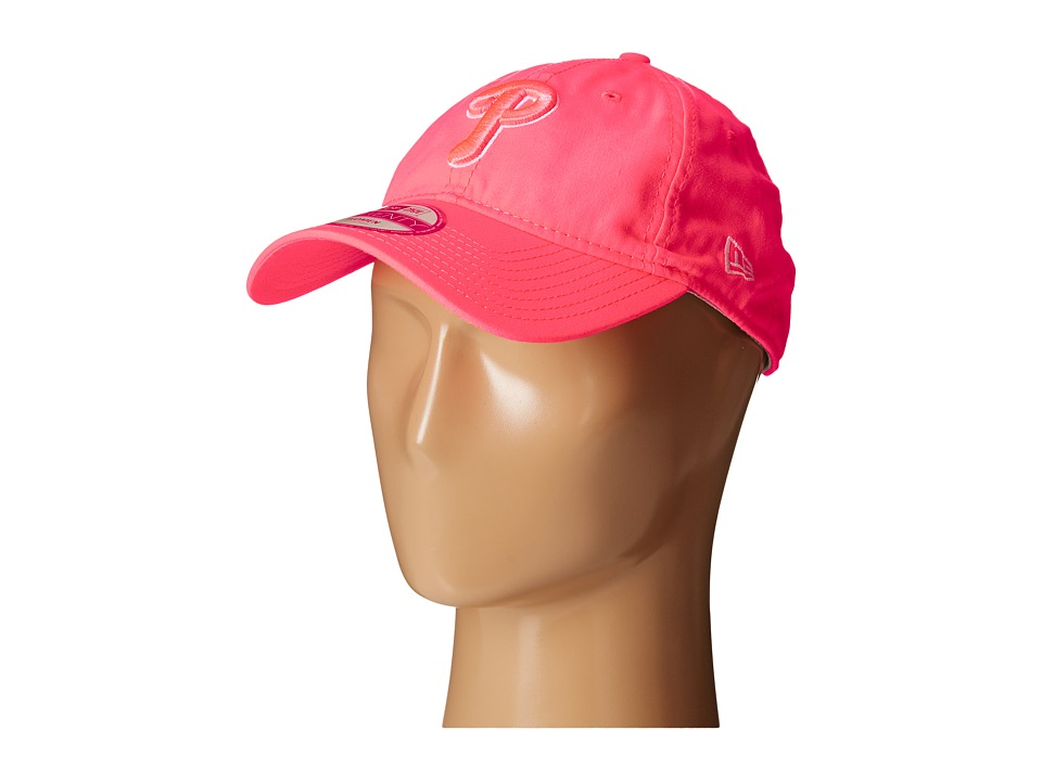 New Era - Fashion Essentials 920 Philadelphia Phillies (Bright Pink) Caps