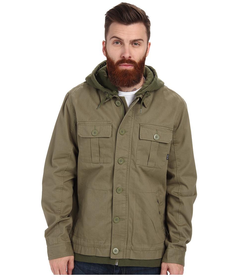 Tavik - Droogs (Army Green) Men's Coat