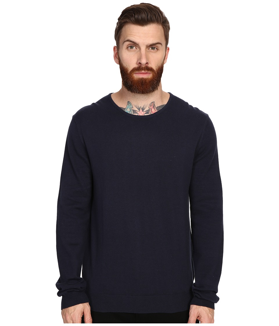 Tavik - Welcome Sweater (Navy) Men's Sweater