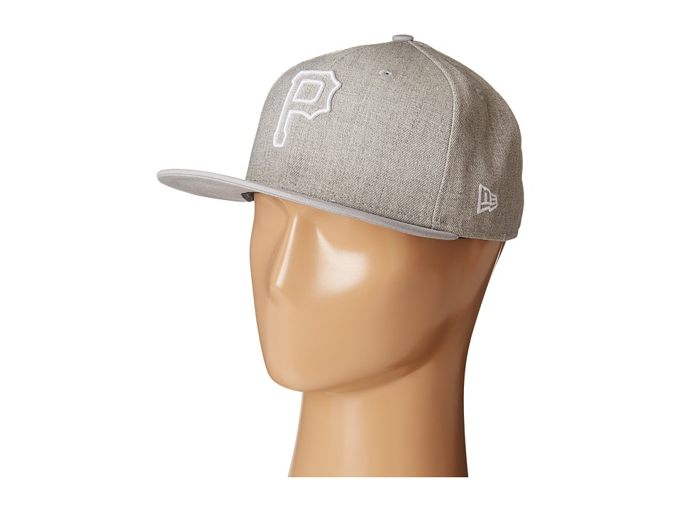 New Era - Fresh Snap Pittsburgh Pirates (Light/Pastel Grey) Caps