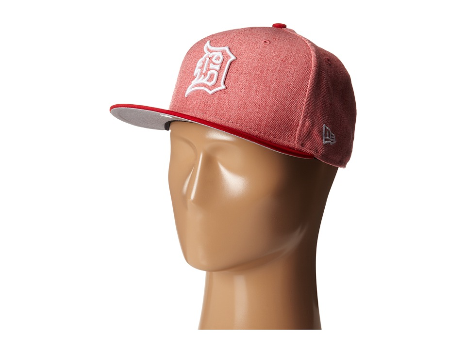 New Era - Fresh Snap Detroit Tigers (Light/Pastel Red) Caps