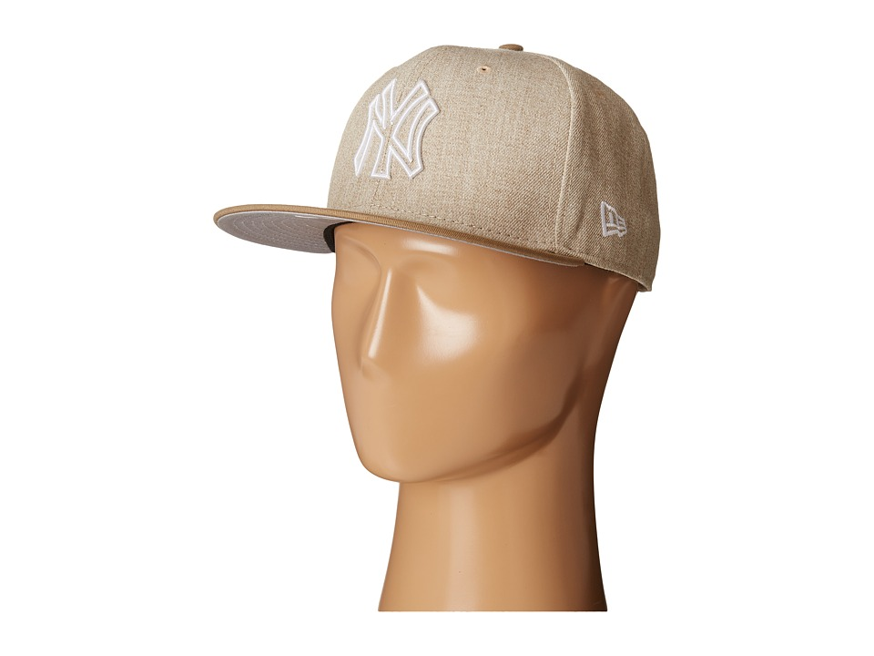 New Era - Fresh Snap New York Yankees (Light Beige) Caps