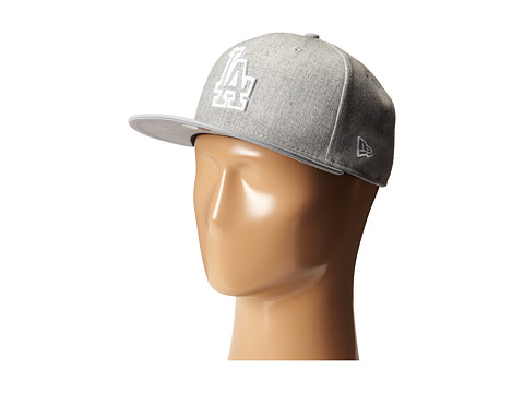 New Era - Fresh Snap Los Angeles Dodgers (Light/Pastel Grey) Caps