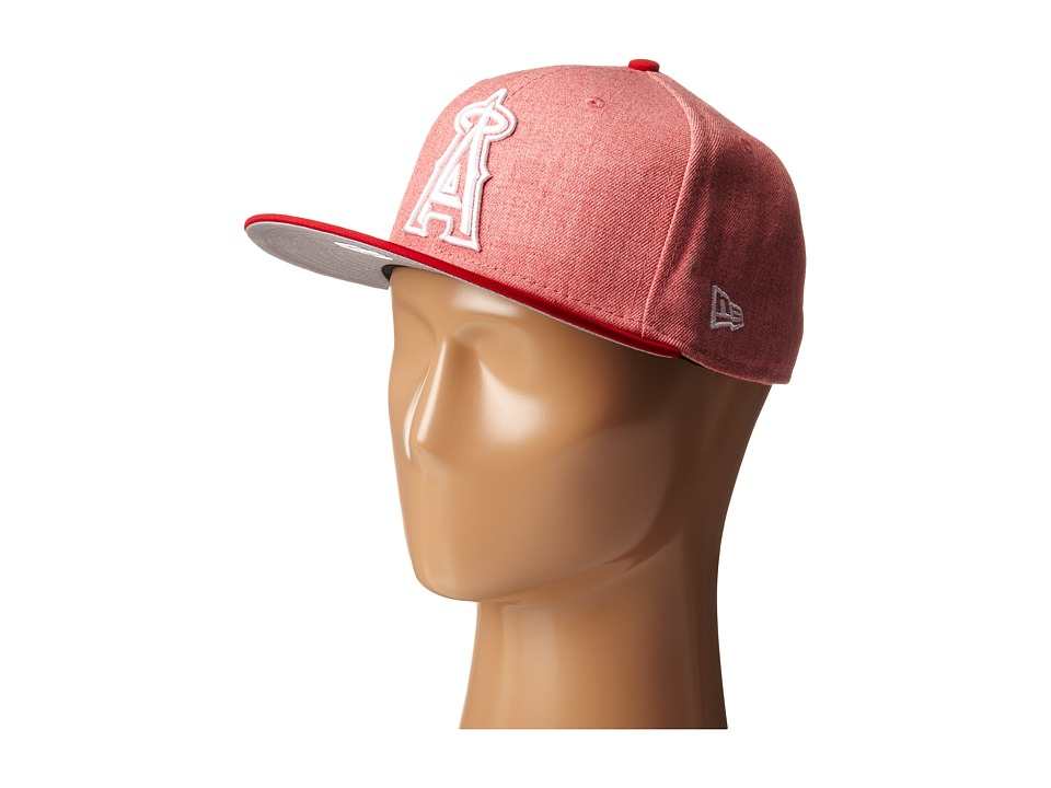 New Era - Fresh Snap Anaheim Angels (Light/Pastel Red) Caps