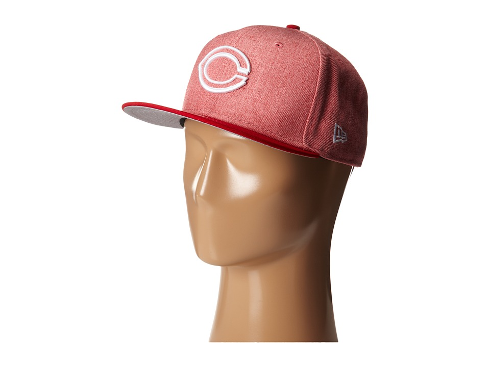 New Era - Fresh Snap Cincinnati Reds (Light/Pastel Red) Caps