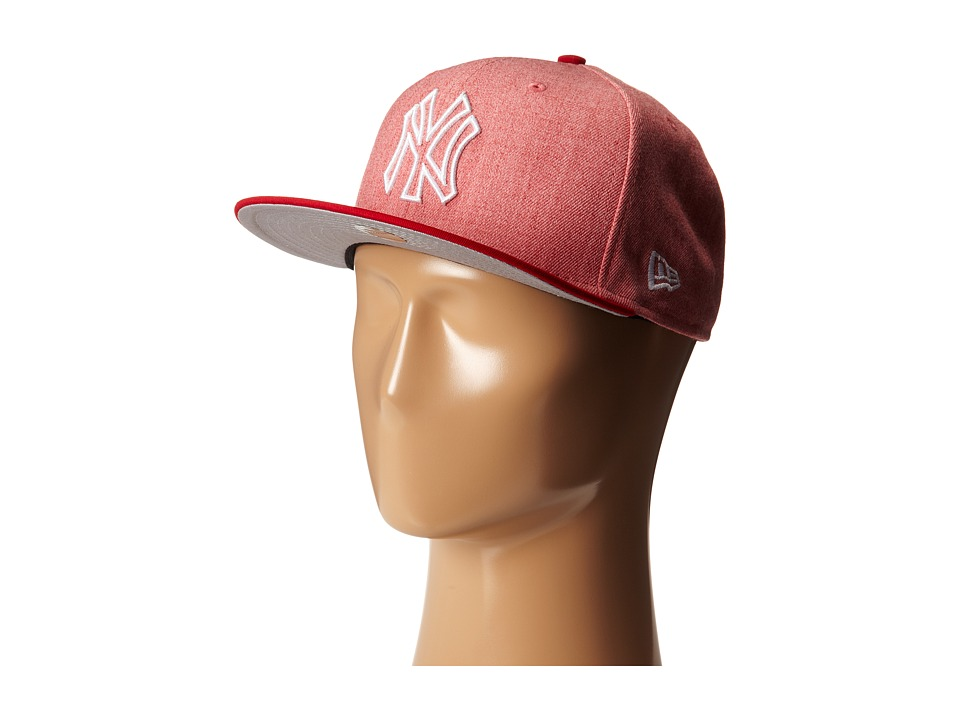 New Era - Fresh Snap New York Yankees (Light/Pastel Red) Caps