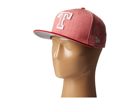 New Era - Fresh Snap Texas Rangers (Light/Pastel Red) Caps