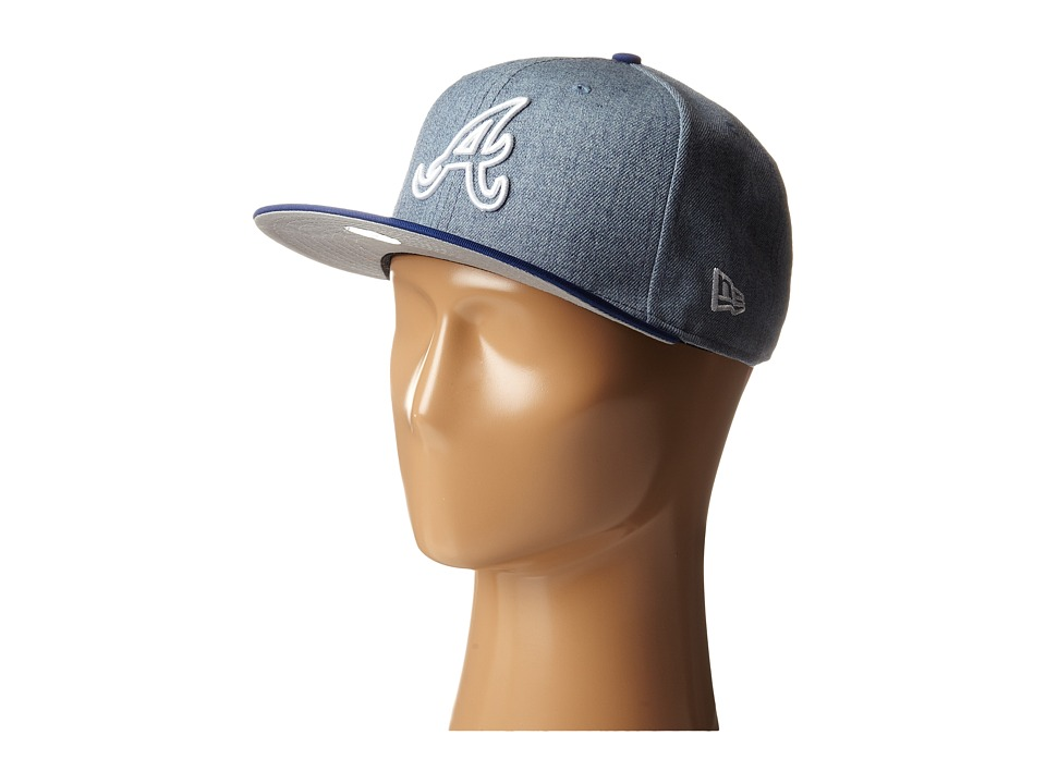 New Era - Fresh Snap Atlanta Braves (Light/Pastel Blue) Caps