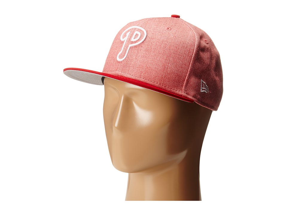 New Era - Fresh Snap Philadelphia Phillies (Light/Pastel Red) Caps