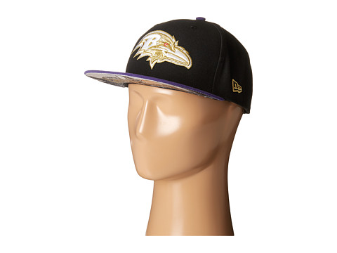 New Era - Team Hasher Baltimore Ravens (Black) Caps