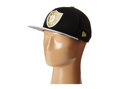 New Era - Team Hasher Oakland Raiders (Black) Caps