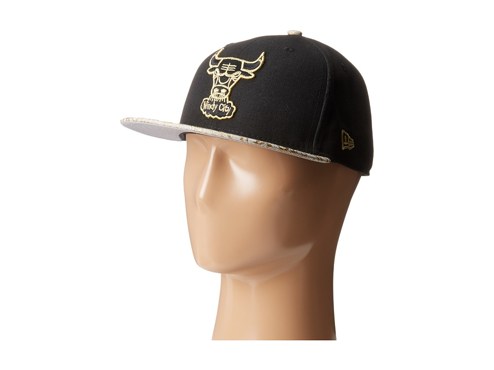 New Era - Snap Foiler Chicago Bulls (Black) Caps