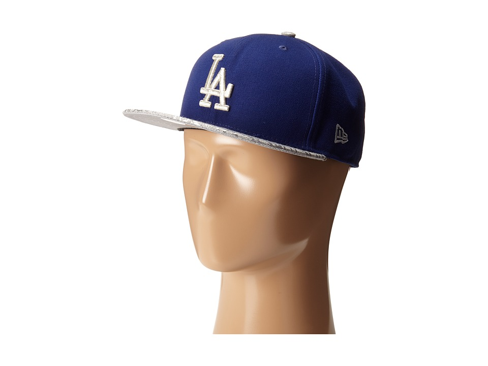 New Era - Snap Foiler Los Angeles Dodgers Team (Medium Blue) Caps