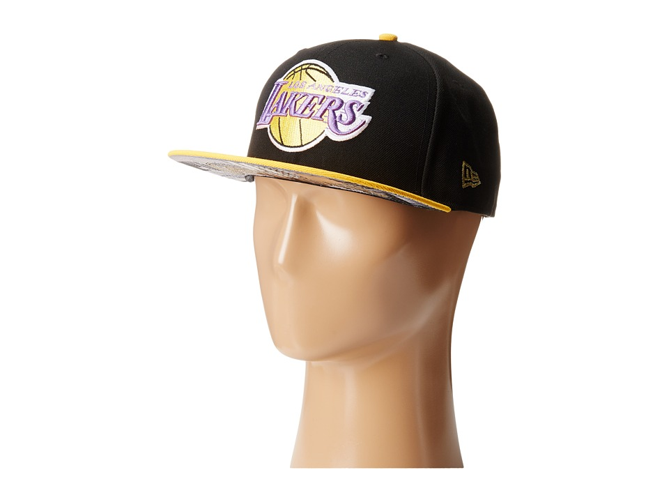 New Era - Team Hasher Los Angeles Lakers (Black) Caps