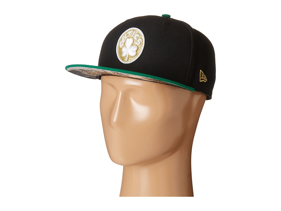 New Era - Team Hasher Boston Celtics (Black) Caps