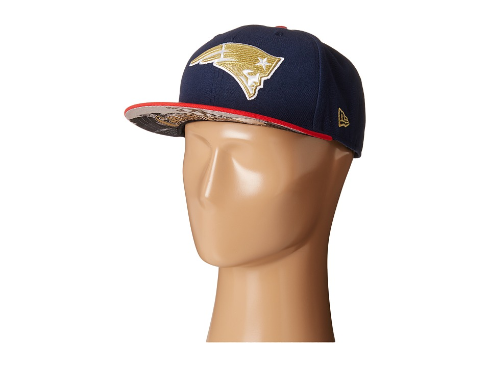 New Era - Team Hasher New England Patriots (Navy) Caps
