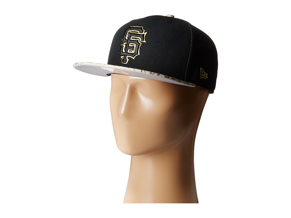 New Era - Snap Foiler San Francisco Giants (Black) Baseball Caps