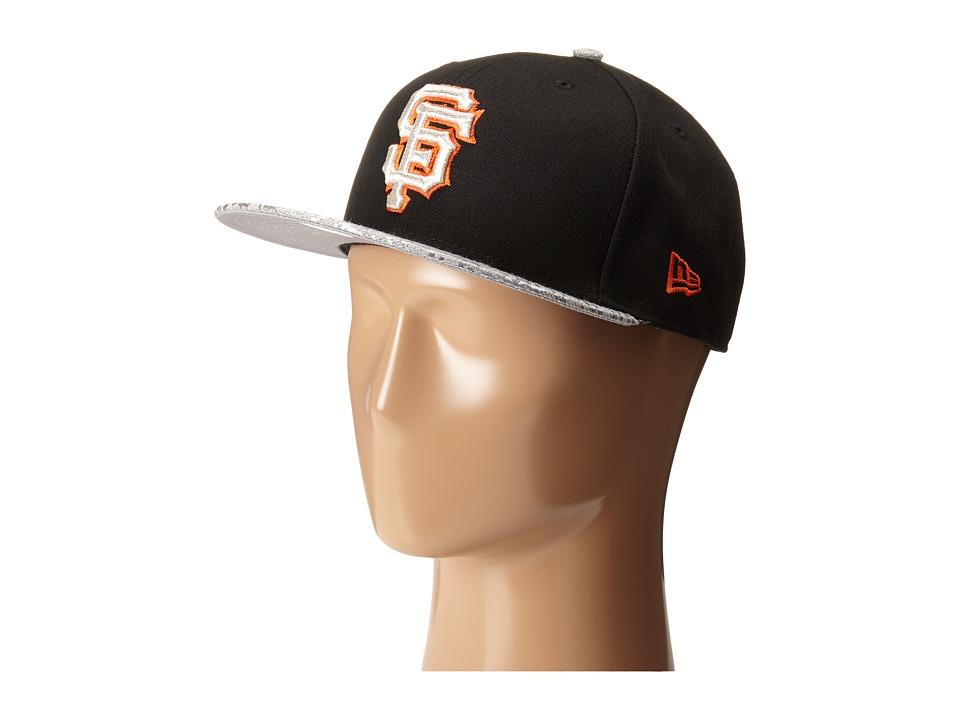 New Era - Snap Foiler San Francisco Giants Team (Black) Caps