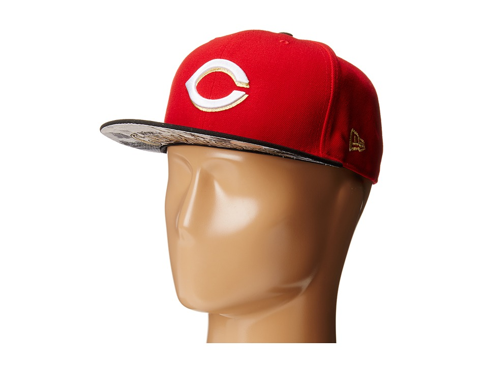 New Era - Team Hasher Cincinnati Reds (Bright Red) Caps