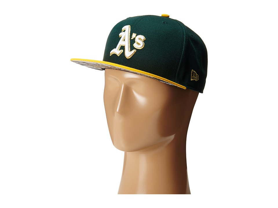 New Era - Team Hasher Oakland Athletics (Dark Green) Caps