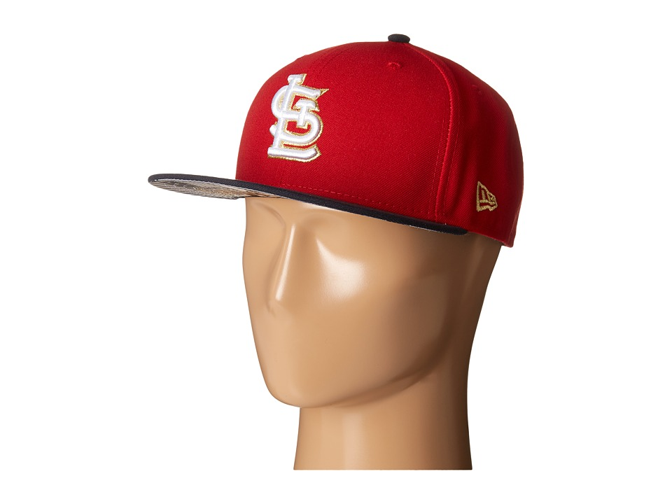 New Era - Team Hasher St. Louis Cardinals (Red) Caps