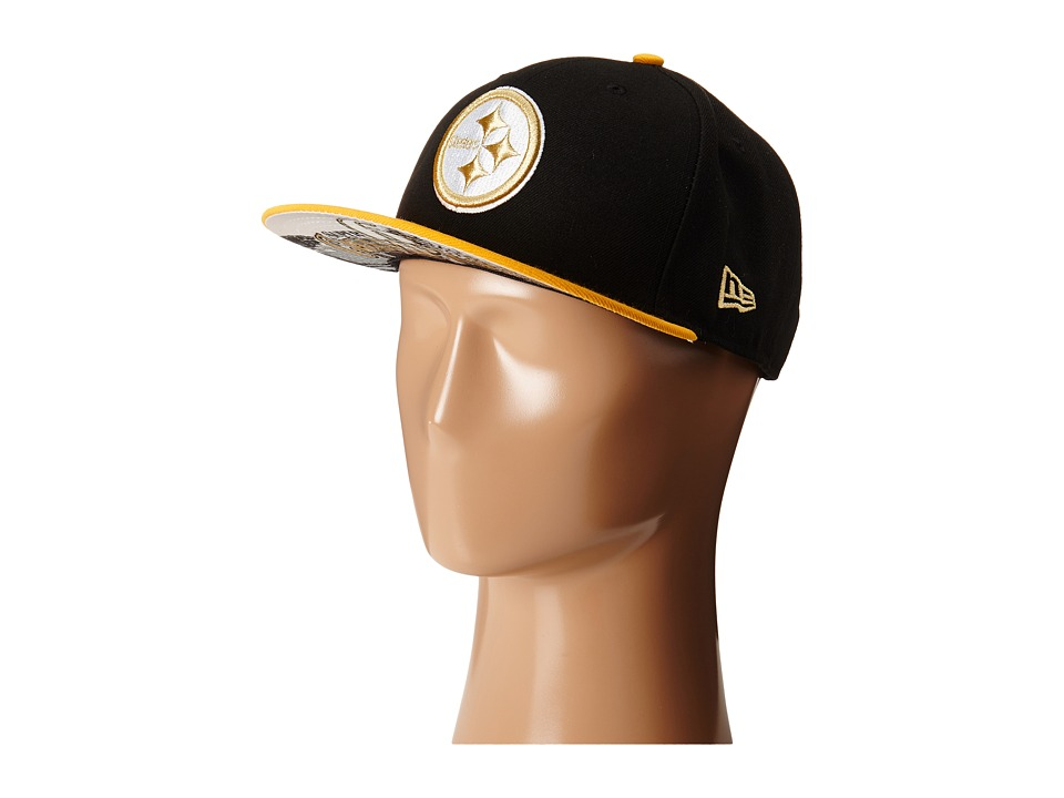 New Era - Team Hasher Pittsburgh Steelers (Black) Caps