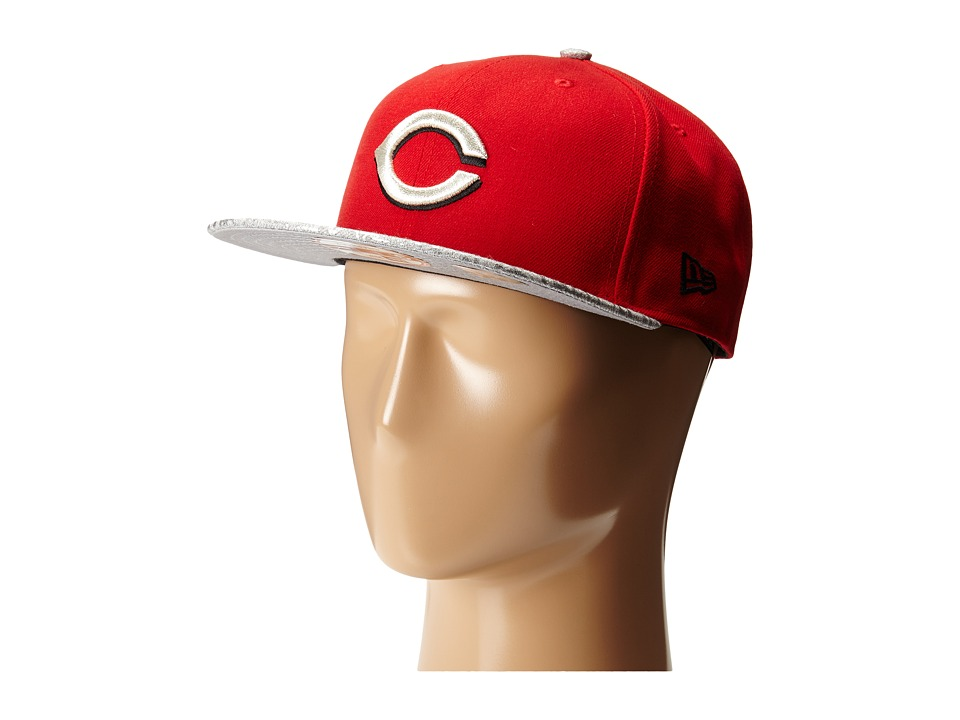 New Era - Snap Foiler Cincinnati Reds (Black) Caps