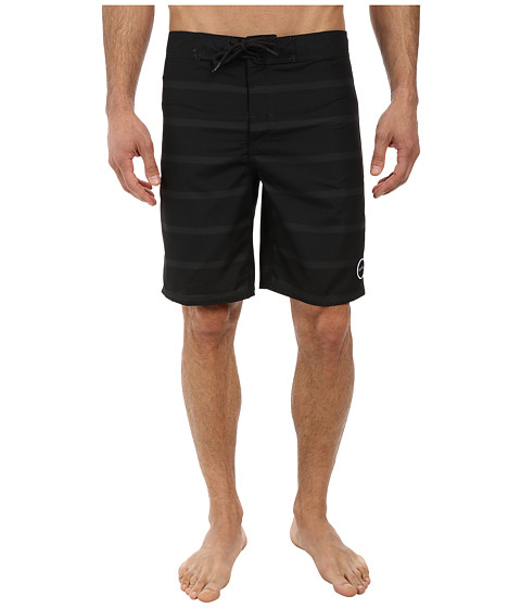 Tavik - Capital Boardshort (Black) Men's Swimwear