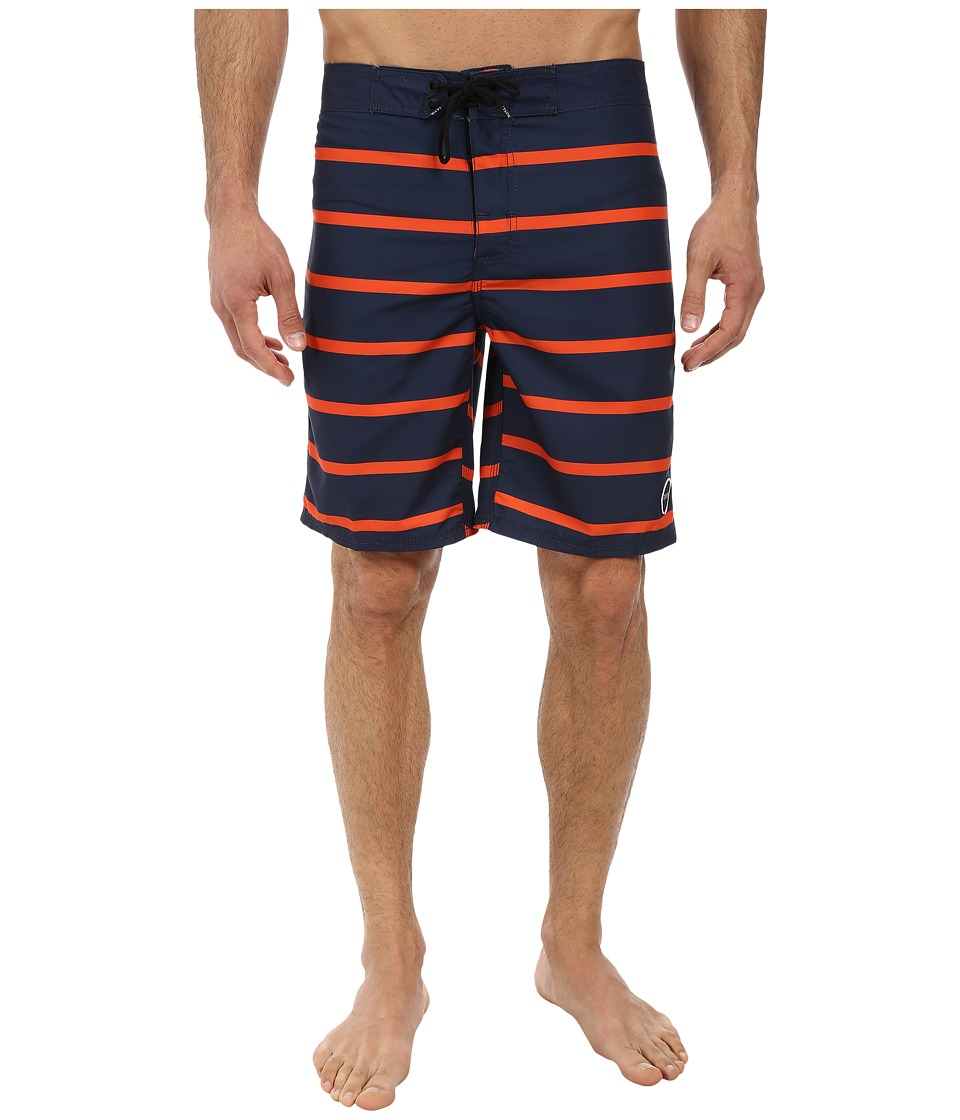 Tavik - Capital Boardshort (Navy) Men's Swimwear