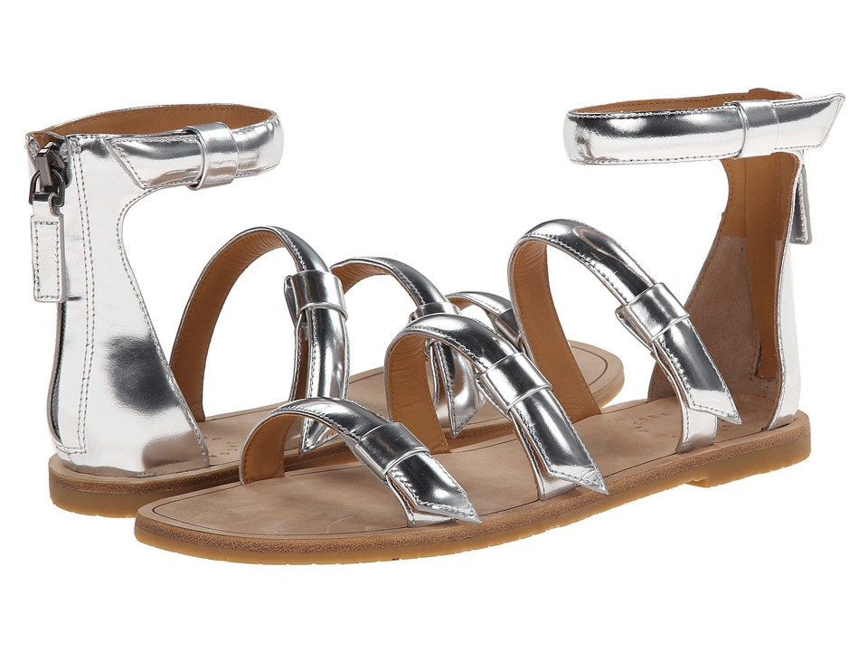 Marc by Marc Jacobs Seditionary Flat Sandal (Silver) Women