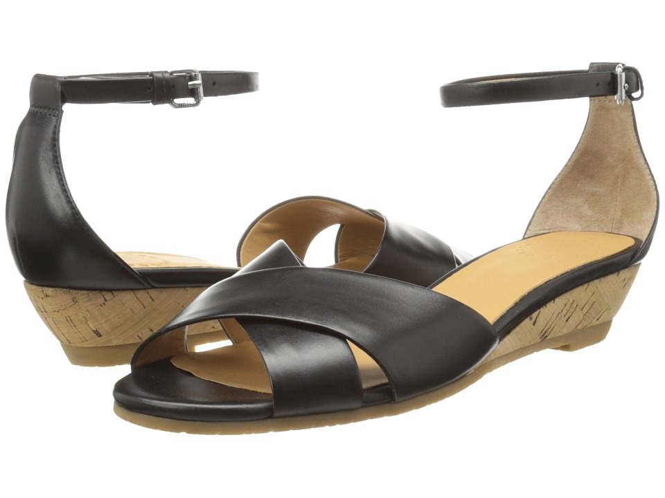Marc by Marc Jacobs Seditionary Wedge Sandal (Black) Women