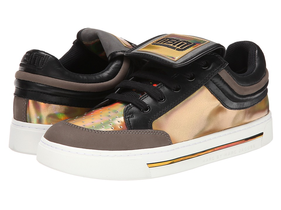 Marc by Marc Jacobs - Cute Kicks Sneaker (Gold Multi) Women's Lace up casual Shoes