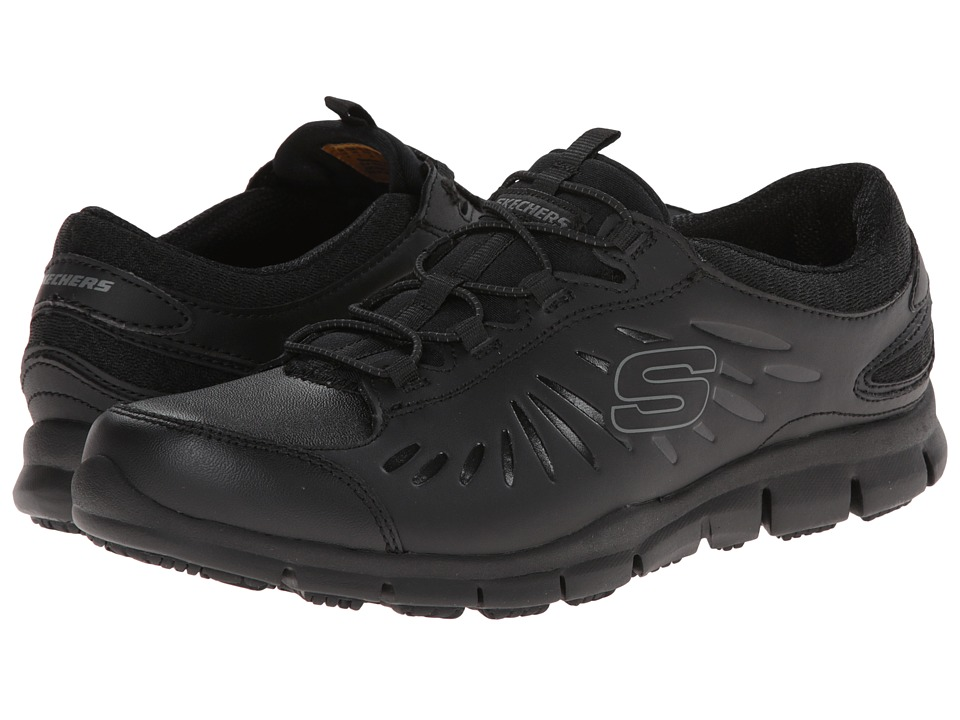 SKECHERS Work - Eldred Fresno (Black) Women's Industrial Shoes