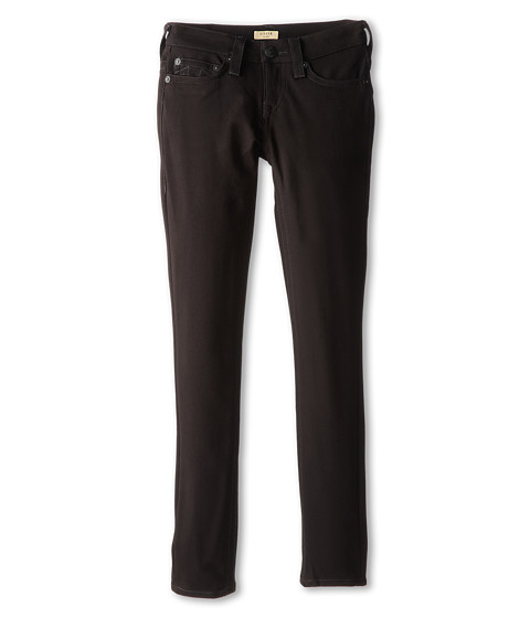True Religion Kids - Stella Skinny Ponte in Anthracite (Big Kids) (Anthracite) Girl's Casual Pants