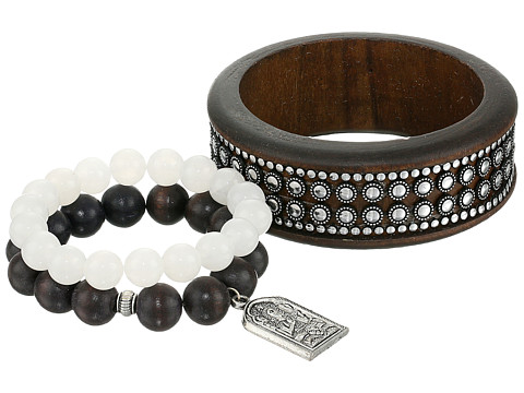 Dee Berkley - Restful Bracelet (Brown/White) Bracelet