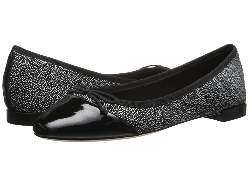Cole Haan - Sarina Ballet (Black/White Print/Patent) Women