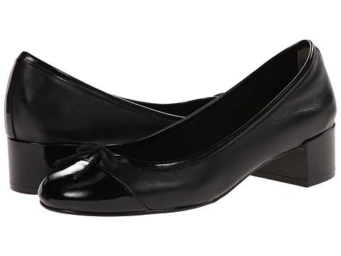 Cole Haan - Sarina Pump (Black/Black Patent) Women's Slip-on Dress Shoes
