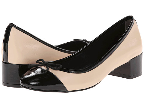 Cole Haan - Sarina Pump (Froth/Black Patent) Women