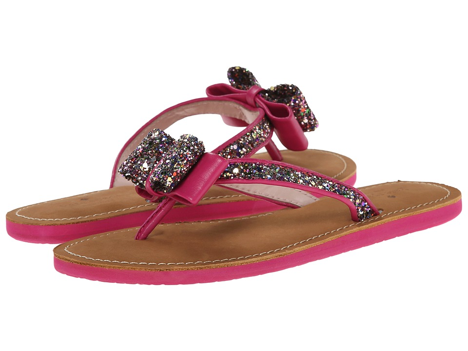 Kate Spade New York - Icarda (Multi Glitter/Deep Pink Nappa) Women's Sandals