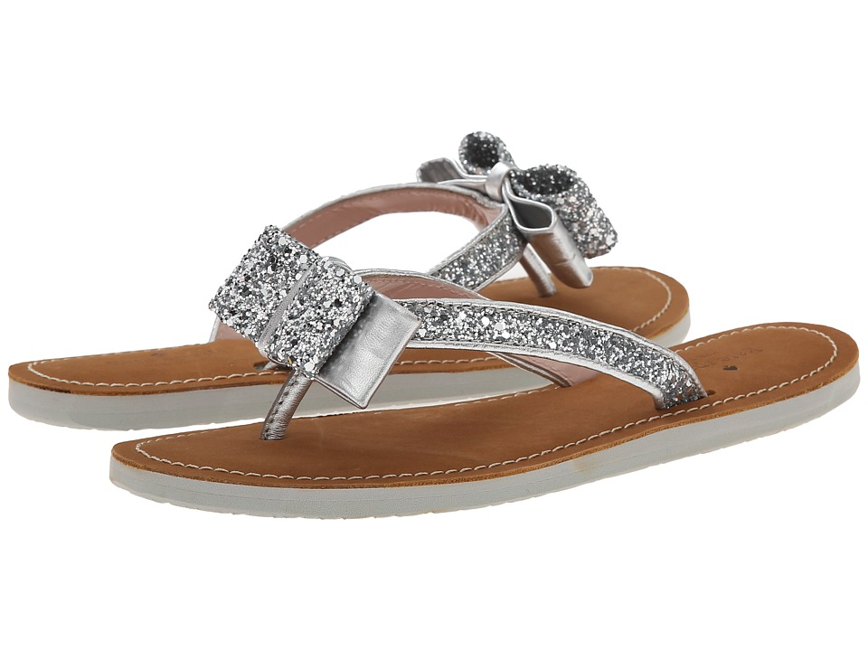 Kate Spade New York - Icarda (Silver Glitter/Silver Metallic Nappa) Women's Sandals