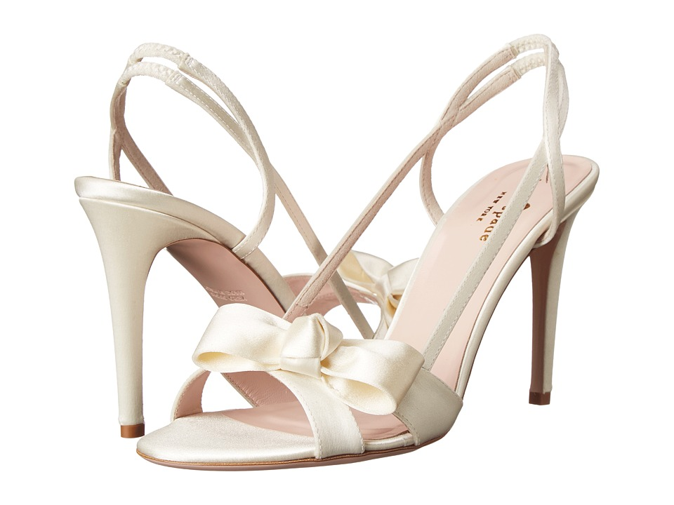 Kate Spade New York - Ideal (Ivory Satin) Women's Shoes