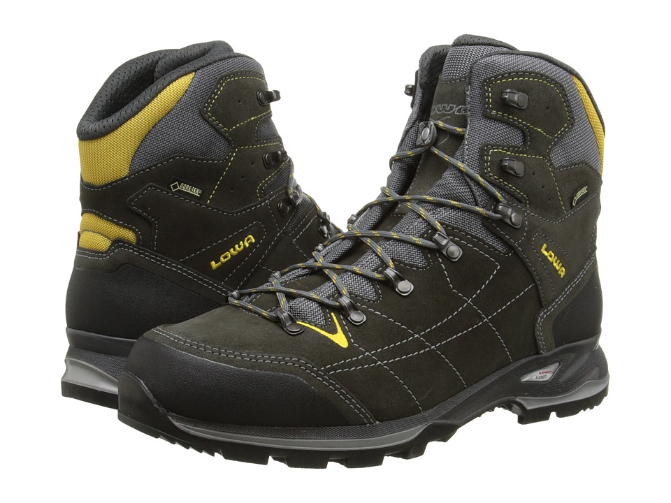 Lowa - Vantage GTX Mid (Anthracite/Yellow) Men's Shoes