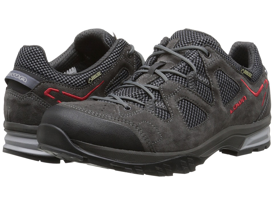Lowa - Phoenix GTX Lo (Anthracite/Red) Men's Shoes