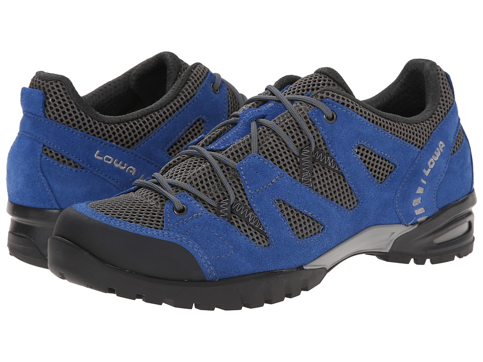 Lowa - Phoenix Mesh Lo (Blue) Men's Shoes