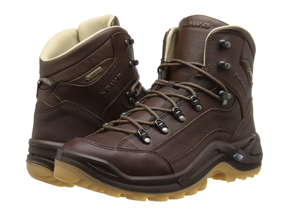 Lowa - Renegade DLX GTX Mid (Chestnut) Men's Hiking Boots
