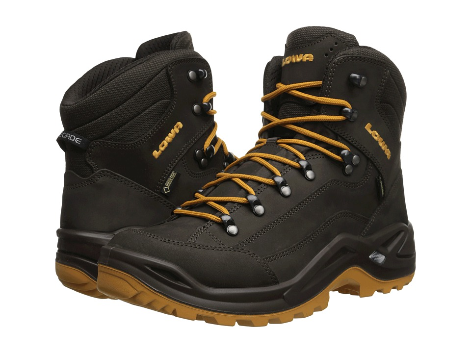 Lowa - Renegade GTX Mid (Slate/Camel) Men's Hiking Boots